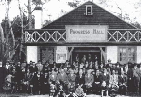 Oct 1958: Where it all began for East Coast Bays #theallmightybays. It was born here at the Progress Hall; which now stands proud: The Bays Club.